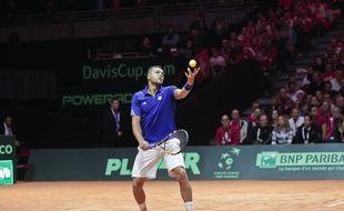 Jo-Wilfried Tsonga en Coupe Davis.