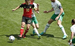 Eden Hazard lors de Belgique-Irlande (3-0), le 18 juin 2016 à Bordeaux.