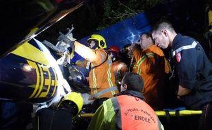 Les pompiers du Sdis 85 sont intervenus en pleine nuit.