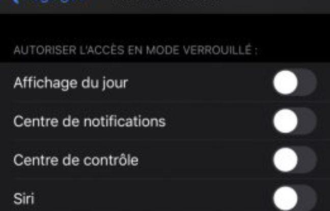 Comment activer l'effacement des données en cas de tentatives de déverrouillage forcé de l'iPhone