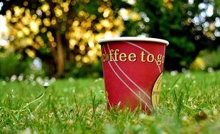 Strasbourg: Un gobelet franco-allemand écolo pour commander son café à emporter (Illustration)