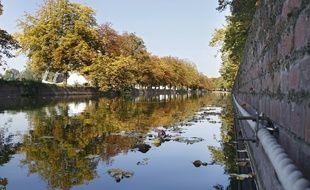 Illustration du canal de la Deûle.