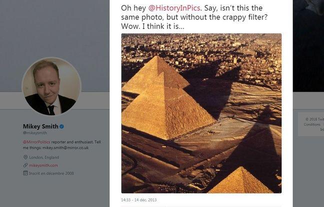 L'image originale avait été retrouvée en 2013 par un journaliste britannique.