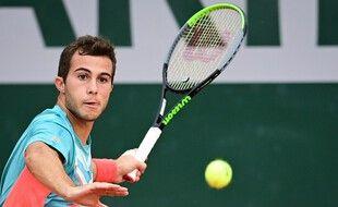 Hugo Gaston, le 30 septembre 2020 à Roland-Garros.