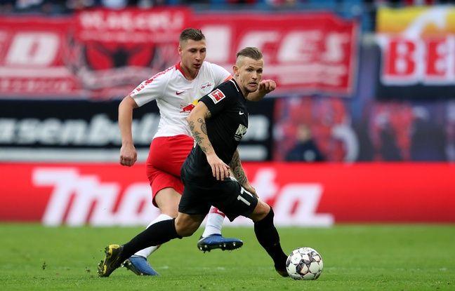 Strasbourg-Francfort: «Il y aura un match en tribune et un autre sur le terrain», annonce Jonathan Schmid