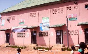 La façade de l'école incriminée, dans le nord du Nigeria.