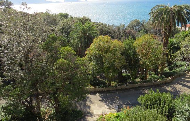 Le parc de la Villa Valmer