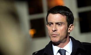 Le Premier ministre Manuel Valls le 11 janvier 2016 à Matignon.