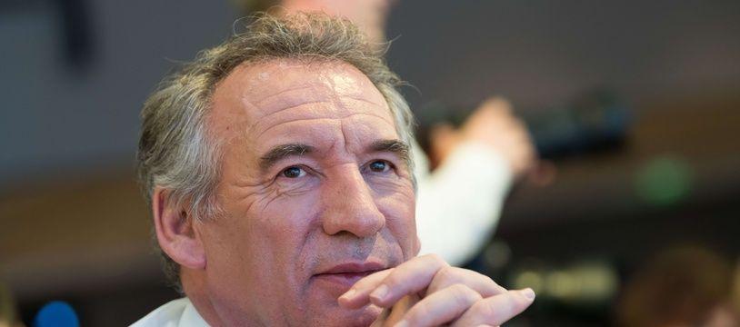 François Bayrou a été élu maire de Pau en 2014 avec un score de 41,8 %.  //JACQUESWITT_Bayrou018/Credit:Jacques Witt / Sipa/SIPA/1712162206
