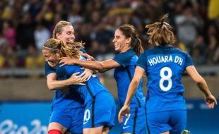 L'équipe de France de football féminin (Archives).