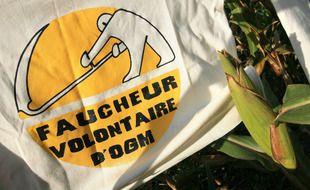 Une cinquantaine de militants anti-OGM a participé à l'action. Illustration.