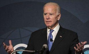 L'ancien vice-président américain Joe Biden à Chicago, le 1er novembre 2017.