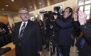 René Marratier, le 4 avril 2016, à la cour d'appel de Poitiers.