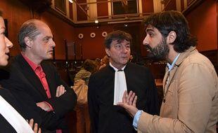 Fabrice Arfi journaliste à Médiapart et Fabrice Lhomme, ex-journaliste du média sont jugés en appel pour atteinte à l'intimité de la vie privée, jusqu'à vendredi.