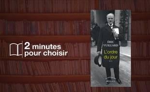 «L'Ordre du jour» par Eric Vuillard chez Actes Sud (160 p., 16 euros).
