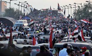 À Bagdad, le dimanche 3 novembre 2019.