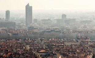 Jeudi 12 mars 2015. En matière de qualité de l'air, le Rhône fait toujours partie des mauvais élève.Illustration. KONRAD K./SIPA