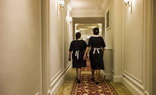 Les femmes représentaient en 2018 deux tiers des salariés du secteur de la propreté.