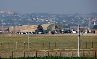 La base militaire d'Incirlik le 28 juillet 2015 en Turquie