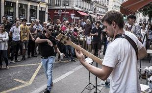 La fête de la musique 2015 à Lyon.