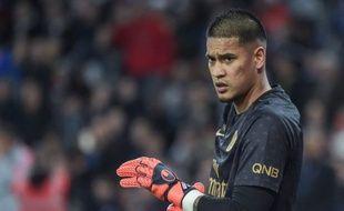 Alphonse Areola, le gardien du PSG, dimanche soir à Toulouse.