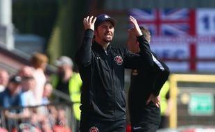 Joey Barton est devenu entraîneur.