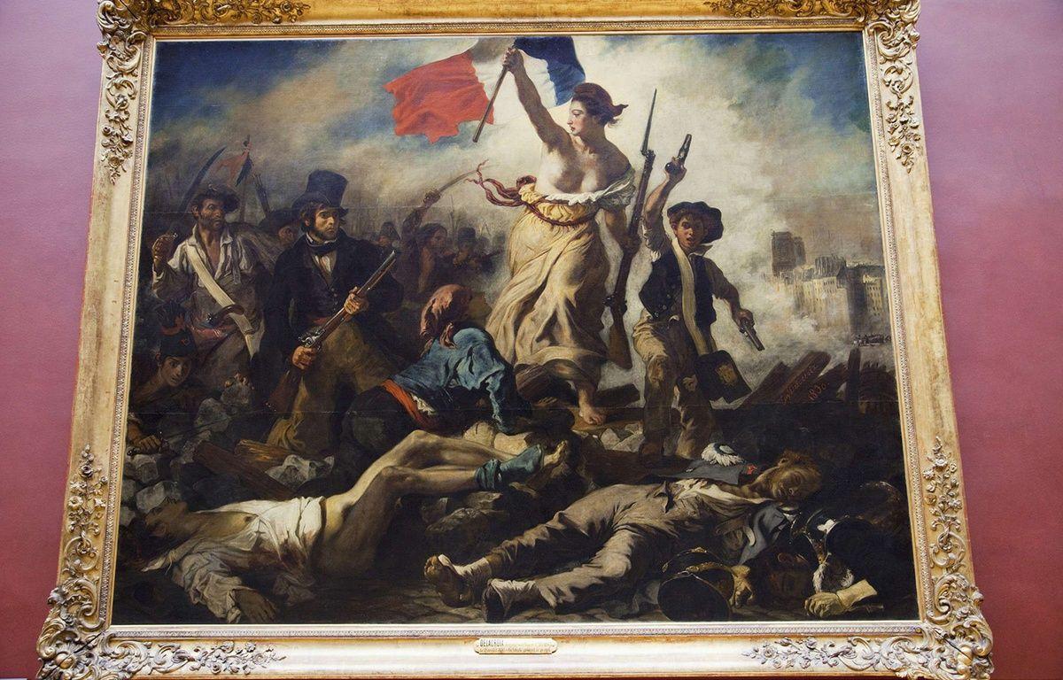 «La Liberté guidant le peuple» d'Eugène Delacroix. – SUPERSTOCK/SUPERSTOCK/SIPA