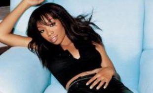 La chanteuse r'n'b Brandy