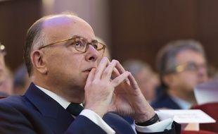 Le ministre de l'Intérieur Bernard Cazeneuve, le 12 septembre 2015 à Paris.