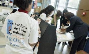 Le Crous de Paris a inauguré hier son espace rentrée étudiants.