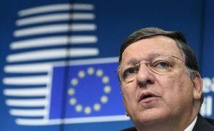 Le président sortant de la Commission européenne, José Manuel Barroso, le 31 août 2014 à Bruxelles