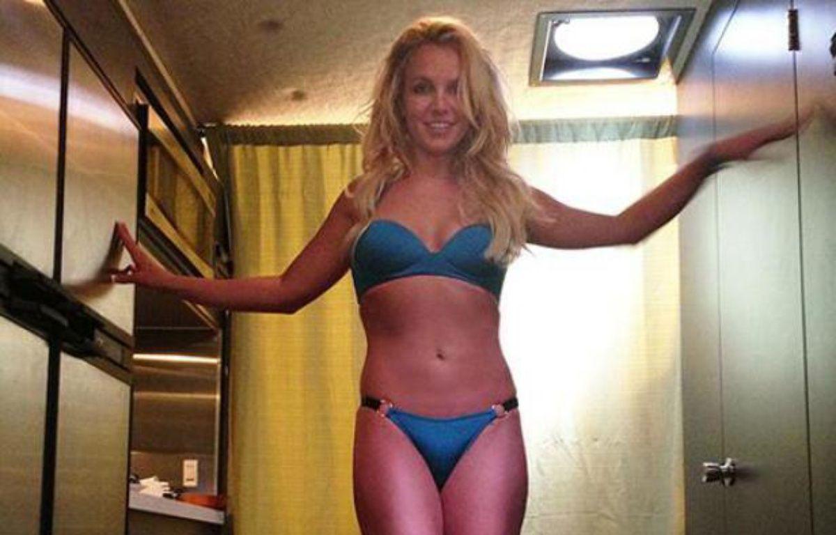 Britney Spears sur le tournage de son clip «Work Bitch». – Britney Spears / Twitter