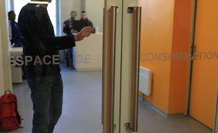 La salle de consommation à risque moindre dite salle de shoot à Strasbourg.