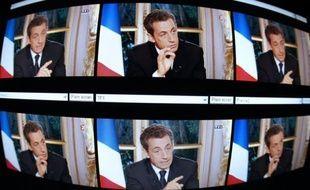 L'émission consacrée à la crise avec Nicolas Sarkozy diffusée simultanément sur TF1 et France 2 jeudi soir a été regardée par 11,9 millions de téléspectateurs