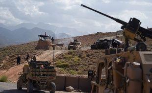 Une patrouille de l'OTAN, réunissant soldats américains et forces afghanes, le 7 juillet dernier.