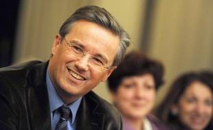 Nicolas Dupont-Aignan au congrès fondateur de Debout la République en novembre 2008