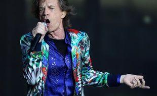 Mick Jagger au stade de Twickenham lors du No Filter Tour des Rolling Stones