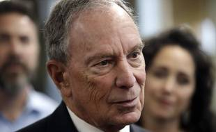L'ancien maire de New York Michael Bloomberg, le 29 janvier 2019.