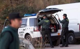 Les secouristes continuent de rechercher le petit Julen, 2 ans, tombé dimanche 13 janvier 2019 dans un puits, en Espagne.