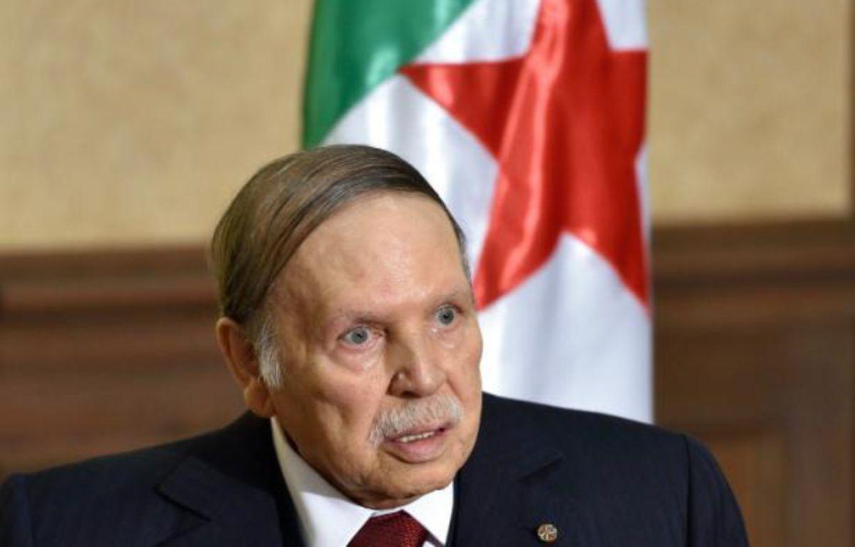 Le président algérien Abdelaziz Bouteflika, le 10 avril 2016 à Zeralda près d'Alger – Eric FEFERBERG AFP