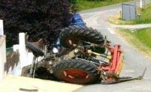 Un jeune homme a accidenté le tracteur de son père dans le Morbihan.