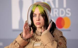 La chanteuse Billie Eilish