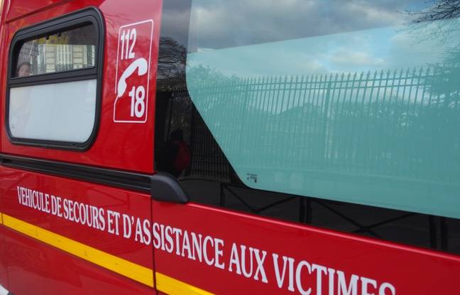 Les Samu et pompiers  sont intervenus après la chute d'un homme des toits de Paris (Illustration).