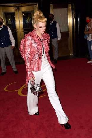 Kristen Stewart, le 13 septembre, à New York, au gala du Met.