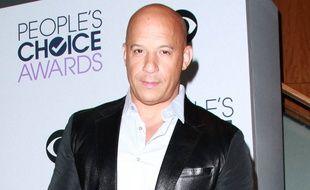 L'acteur Vin Diesel