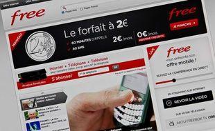 Free Mobile a lancé ses offres le 10 janvier 2012