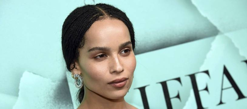 L'actrice Zoe Kravitz à New York.