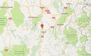 La commune de Tournon-sur-Rhône, en Ardèche.