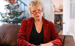 Capture d'écran de la vidéo des voeux du Nouvel An d'Eva Joly à l'occasion du passage en 2012.