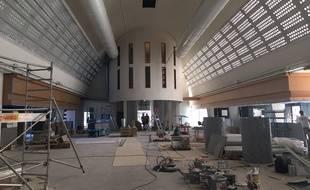 L'aménagement de la Halle Boca, quai de Paludate à Bordeaux, se termine.